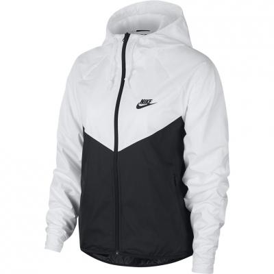 's Nike NSW Windrunner black and white BV3939 101 dama