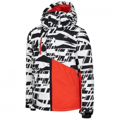 Geaca Ski 4F White Boy's HJZ20 JKUMN002 10S