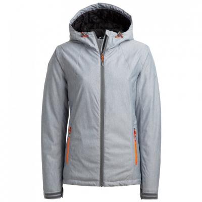 Geaca Ski 's Outhorn HOZ18 KUDN600A cool light gray melange dama
