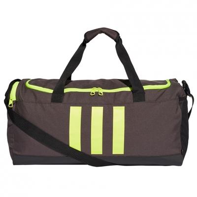 Geanta box Adidas Essentials 3- Stripes Duffel M gray-green GN2047