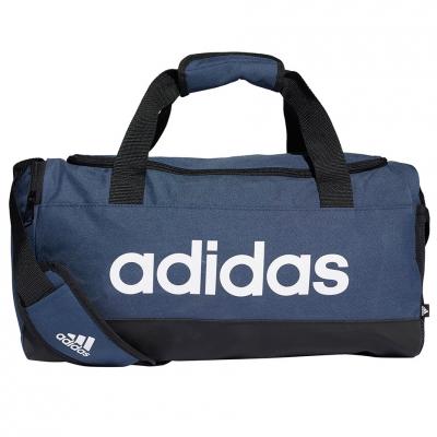 Geanta box Adidas Essentials Duffel S navy blue GN2035