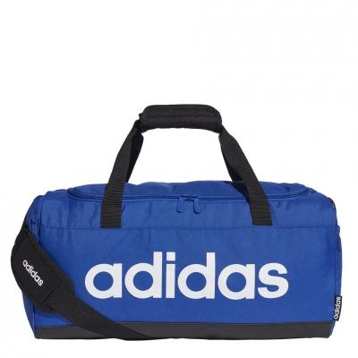 Geanta box adidas Linear Duffel S blue GE1149