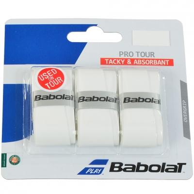 Geanta box BABOLAT PRO DOUR TACKY & ABSORBANT OAK , white 3pcs 138757