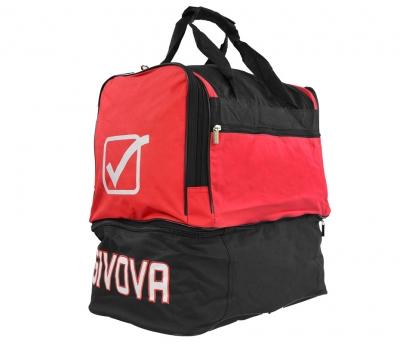 Geanta box GIVOVA RED-BLACK MEDIUM