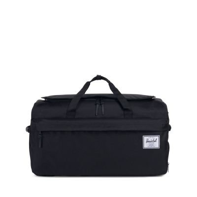 Geanta box Herschel Supply Co Outfitter Black Duffle