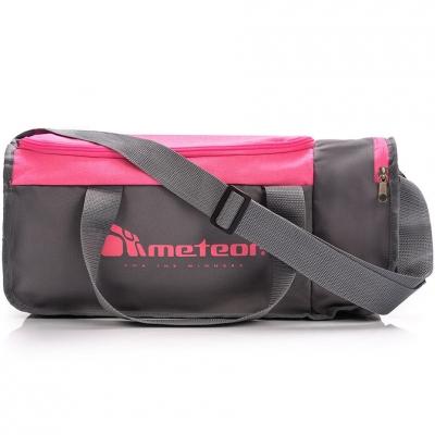 Geanta box Meteor Nepr 20L fitness gray-pink 74537