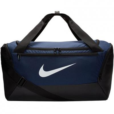 Geanta box Nike Brasilia S Duffel 9.0 navy blue BA5957 410