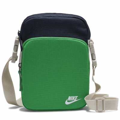 Geanta box Nike Heritage Smit 2.0 green-navy blue BA5898 310