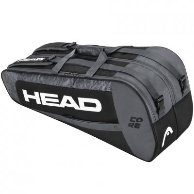 Geanta box Tennis Head Core 6R Combi black-gray 283401