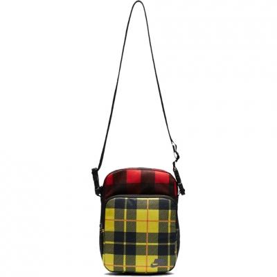 Nike Heritage Printed 2.0 handbag black-red-yellow check BA5899 010