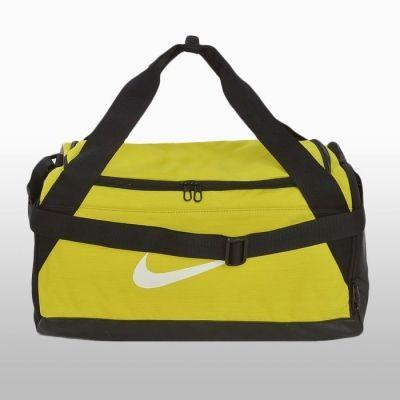 Geanta de sala galbena NikeBrasilia S Duff Unisex shades of auriu and galben