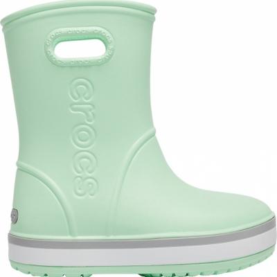 Gheata Gheata Crocs rain for Crocband Rain green 205 827 3TO copil copil