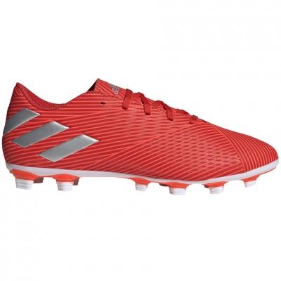 Gheata Minge Fotbal adidas Nemeziz 19.4 FxG red F34393