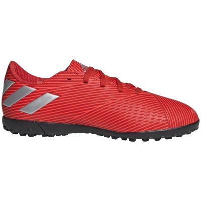 Gheata Minge Fotbal adidas Nemeziz 19.4 TF JR red F99935