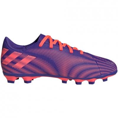 Gheata Minge Fotbal adidas Nemeziz.4 FxG purple-pink EH0585 copil