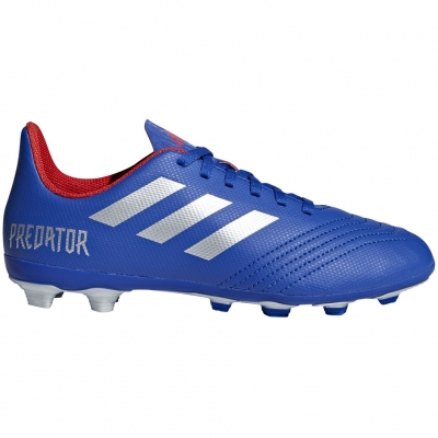 Gheata Minge Fotbal adidas Predator 19.4 FxG JR blue CM8540