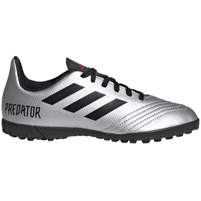 Gheata Minge Fotbal adidas Predator 19.4 TF JR silver G25825