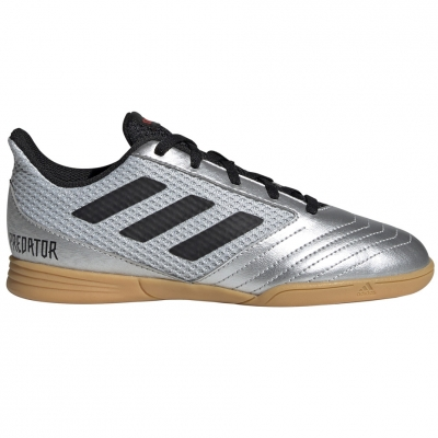 Gheata Minge Fotbal adidas Predator 19.4 IN. Room JR silver G25829