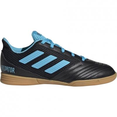 Gheata Minge Fotbal adidas Predator 19.4 IN Sala black blue G25830 copil
