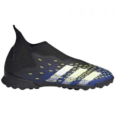 Gheata Minge Fotbal Adidas Predator Freak.3 LL TF black and white FY0997 copil Adidas