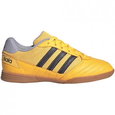 Gheata Minge Fotbal adidas Super Sala IN yellow FX6759 copil