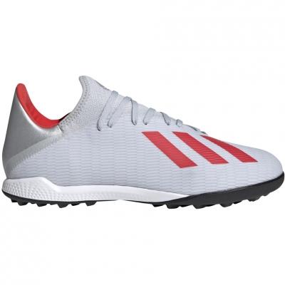 Gheata Minge Fotbal adidas X 19.3 TF silver F35374