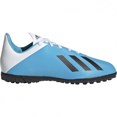 Gheata Minge Fotbal adidas X 19.4 TF blue and white F35347 copil