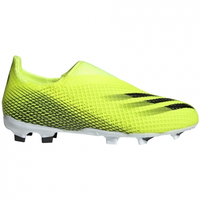 Gheata Minge Fotbal adidas X Ghosted.3 LL FG Yellow and Black FW6978 copil
