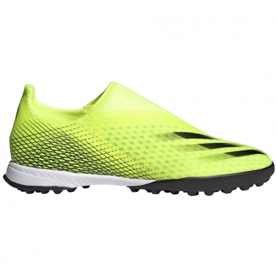 Gheata Minge Fotbal adidas X Ghosted.3 LL TF yellow and black FW6971