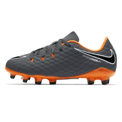 Gheata Minge Fotbal Nike Hypervenom Phantom Academy FG copil
