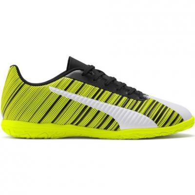 Gheata Minge Fotbal Puma One 5.4 IT yellow-white-black 105654 04