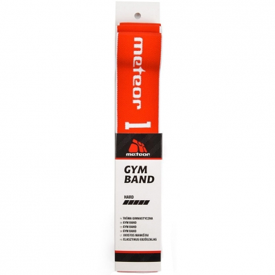 Gymnastic tape Meteor 90x4 hard red 31452