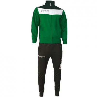Givova Dres Campo green and black