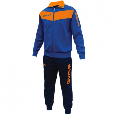 Dres Givova Visa blue-orange fluo