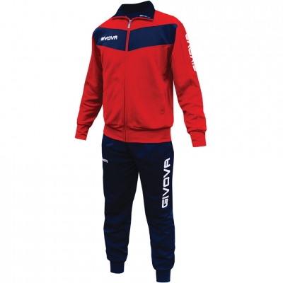Dres Givova Visa red and navy blue