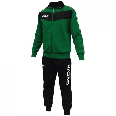 Dres Givova Visa green and black