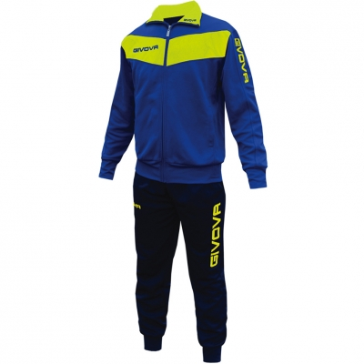 Dres Givova Visa blue and yellow fluo