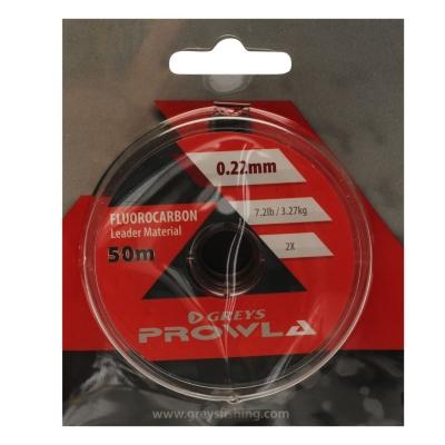 Greys Prowla Fluorocarbon Tippet Fly Leader Line