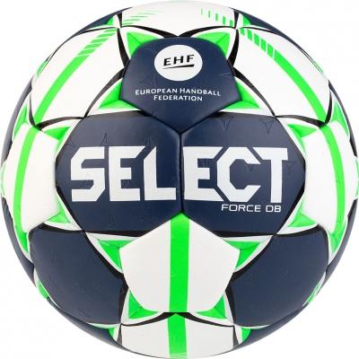 Handball Select Force DB Senior 3 EHF 2019 white-navy-green 16158