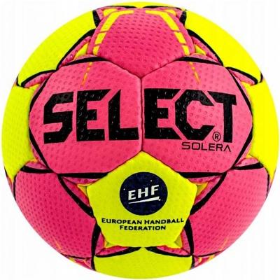Handball Select Solera 2 2018 pink-yellow 14295