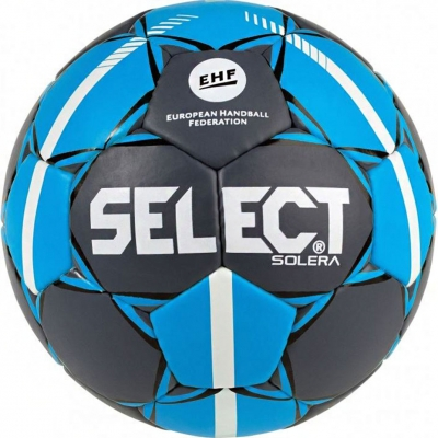 Handball Select Solera 2 Official EHF gray-blue 15976 copil