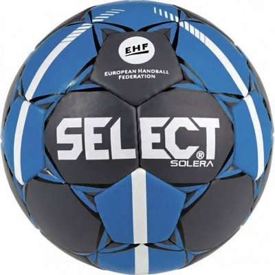 Handball Select Solera Mini 0 2019 Official EHF gray-blue