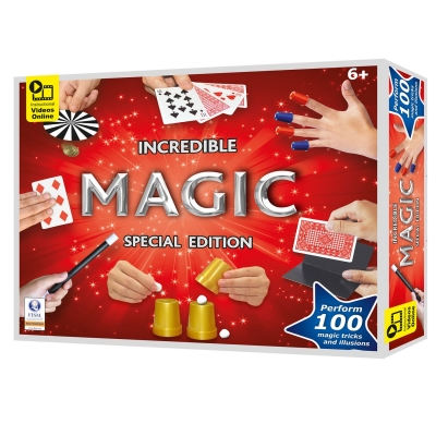 Hanky Panky Toys Magic Tricks Set