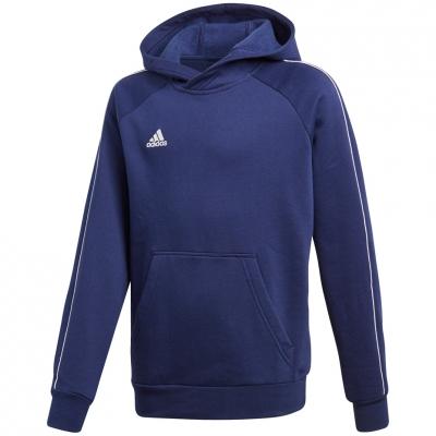 Hanorac Adidas Core 18 JR navy blue CV3430 adidas teamwear