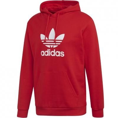 Hanorac Adidas Trefoil red FM3783