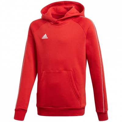 Bluza trening Hanorac adidas Core 18 JR red CV3431 adidas teamwear