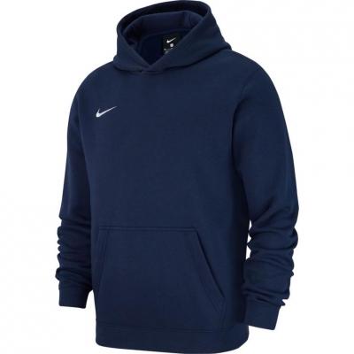 Hanorac Nike PO FLC TM Club 19 navy blue AJ1544 451 copil