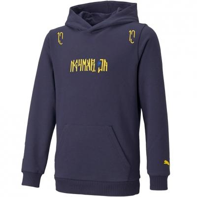 Hanorac Puma Neymar JR Hero navy blue 605545 06