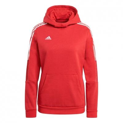 Hanorac adidas Tiro 21 Sweat red GM7327 adidas teamwear