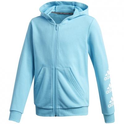 Hanorac Bluza fermoar adidas Must Haves Bos blue GE0943